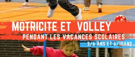 Stage de volley – Vacances de Toussaint 2020