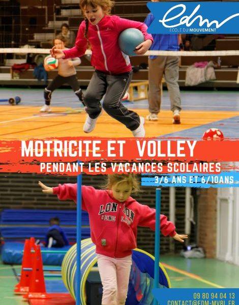 Stage de volley – Vacances de Toussaint 2020