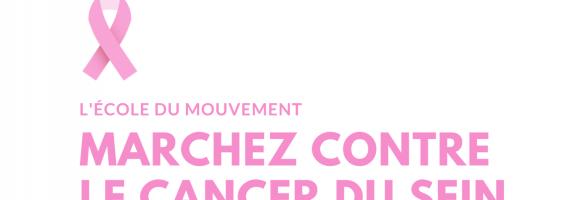 Marchez contre le cancer du sein